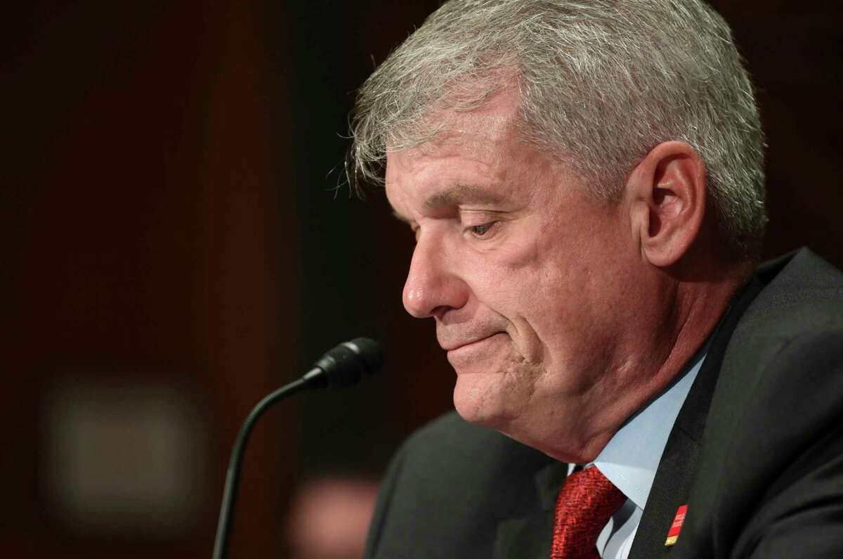 Wells Fargo CEO Timothy Sloan, who has been with the company for 30 years, argued that he is the right man to lead the bank's reform.