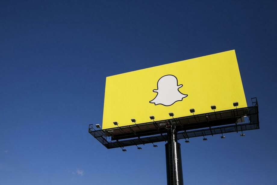 Snapchat is adding game scores and verified weather information as filters. (Kristoffer Tripplaar/Sipa USA/TNS) Photo: Kristoffer Tripplaar / TNS / Sipa USA