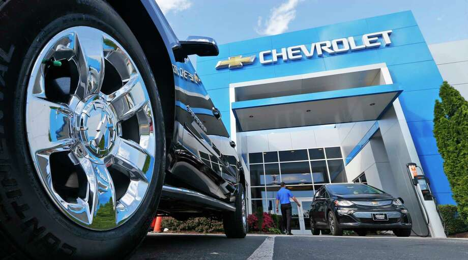 A Chevrolet dealership in Richmond, Va. General Motors and Ford each posted strong U.S. sales in September, confirming predictions that the industry could rebound for the month. Photo: Steve Helber, STF / Copyright 2017 The Associated Press. All rights reserved.