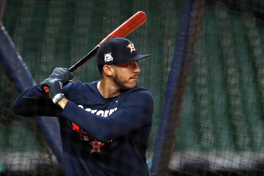 Astros shortstop Carlos Correa found his stroke during the final week of the season, going 13-for-25. Photo: Karen Warren, Staff / @ 2017 Houston Chronicle
