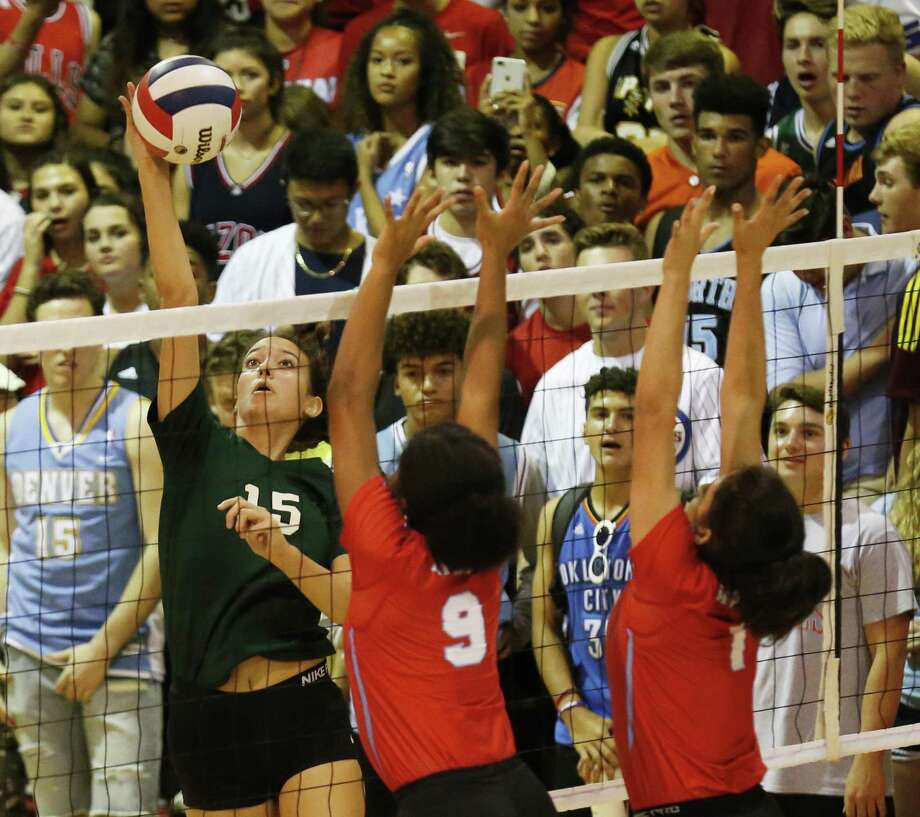 Volleyball Friday S High School Results Houston Chronicle