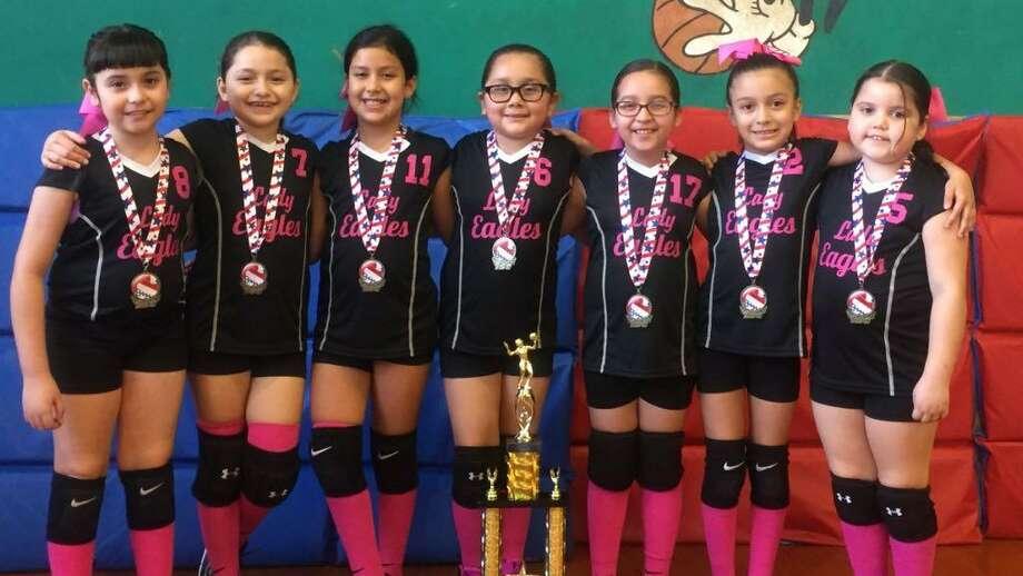 The Blessed Sacrament third grade team won a Boys & Girls Club Tournament. From left are Gisselle, Kara, Emma Joy, Rachel, Andrea, Karolina and Marifer. Photo: Courtesy Photo