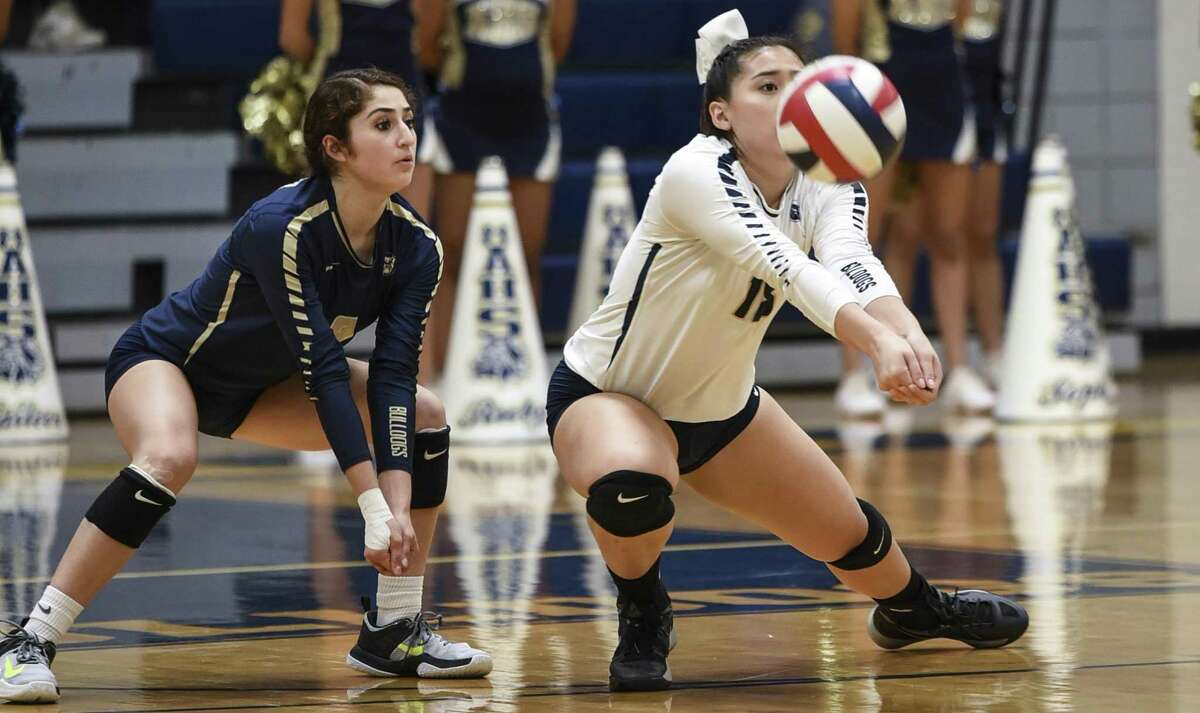Anissa Davila, Amber Tran and the Lady Bulldogs won 3-1 over LBJ on Friday night. Alexander is now 11-0 in District 29-6A with three games to play.