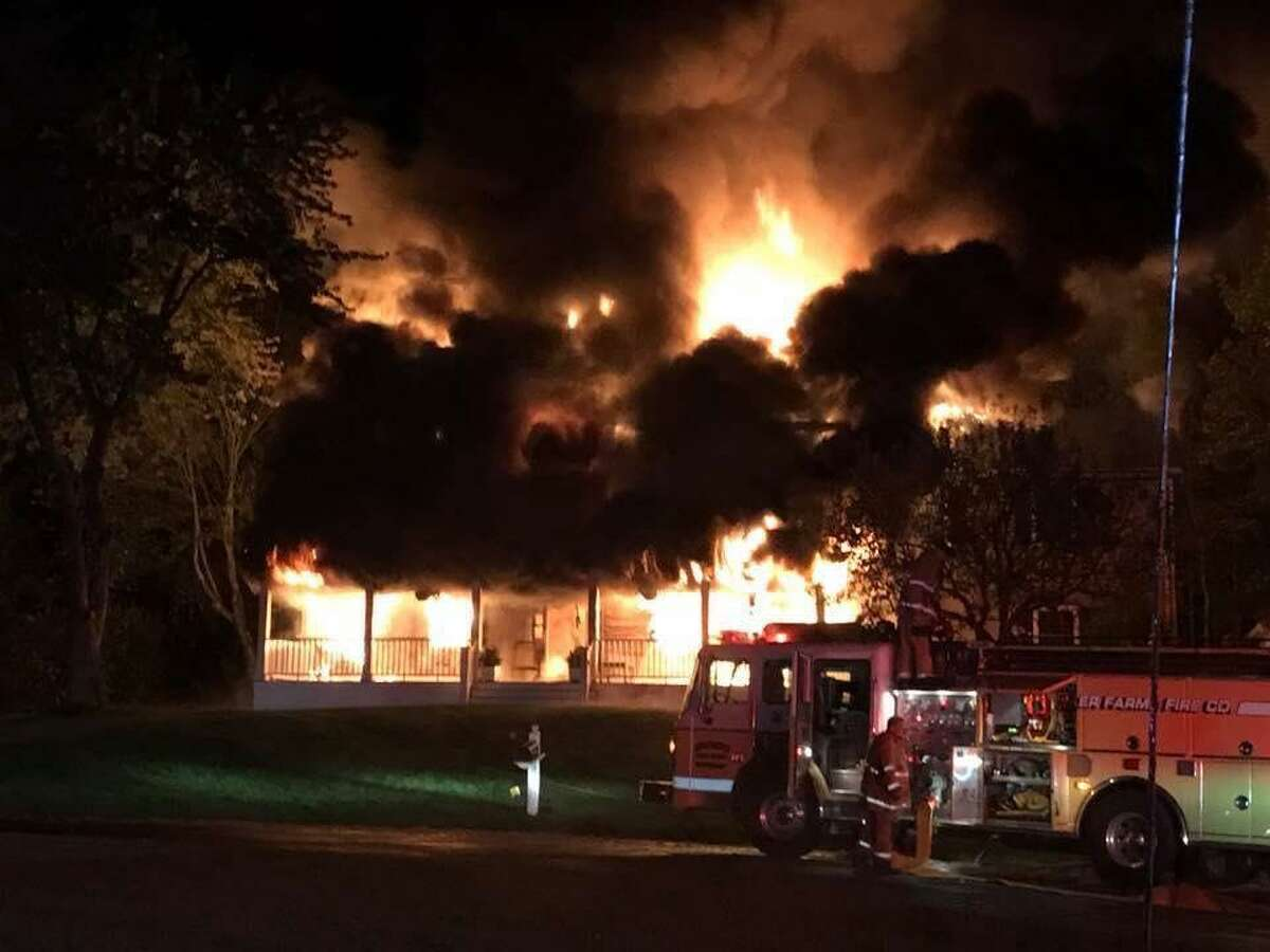 The Thomas and Ashley Conlan family lost their home after fire engulfed the structure on Saturday, Sept. 30, 2017. The family was able to escape the fire, but lost everything in the house. Alison Cubbellotti, a cousin of Ashley Conlan, posted on the YouCaring crowdsourcing page. posted