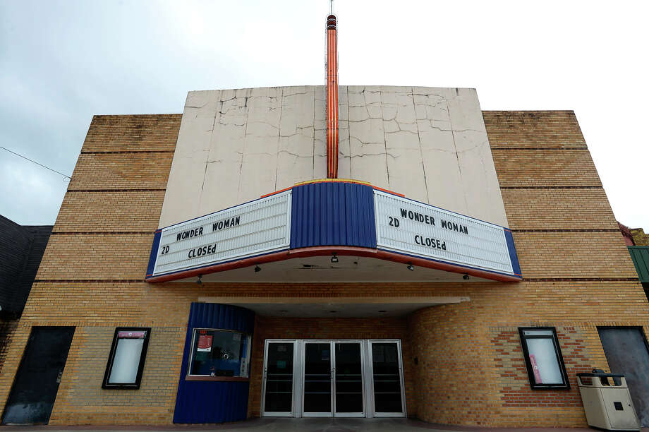 The Pines Theater in downtown Silsbee. The theater has been closed since Harvey with no date to reopen set.  Photo taken Tuesday 10/3/17 Ryan Pelham/The Enterprise Photo: Ryan Pelham / ©2017 The Beaumont Enterprise/Ryan Pelham