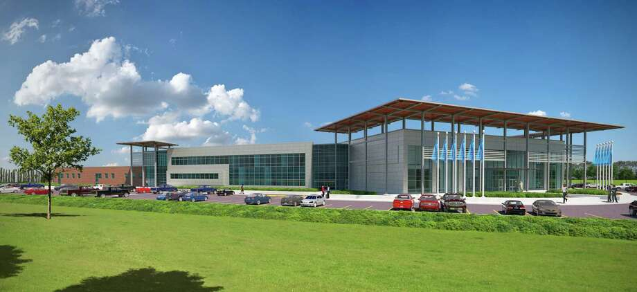 The San Jacinto College's Center for Petrochemical, Energy, and Technology is scheduled to open in 2019 in Pasadena to serve industry needs for trained workers in the petrochemical manufacturing industry.
