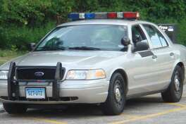 A Connecticut State Police cruiser.