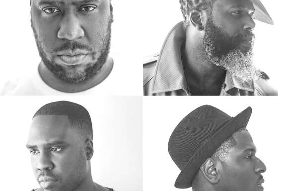 The Robert Glasper Experiment is, clockwise from top left, pianist Robert Glasper, saxophonist Casey Benjamin, drummer Mark Colenburg and bassist Derrick Hodge.