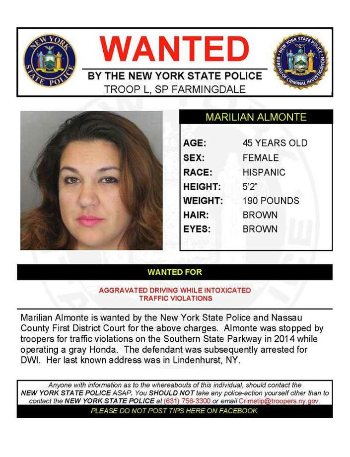 Marillian Almonte Photo: New York State Police