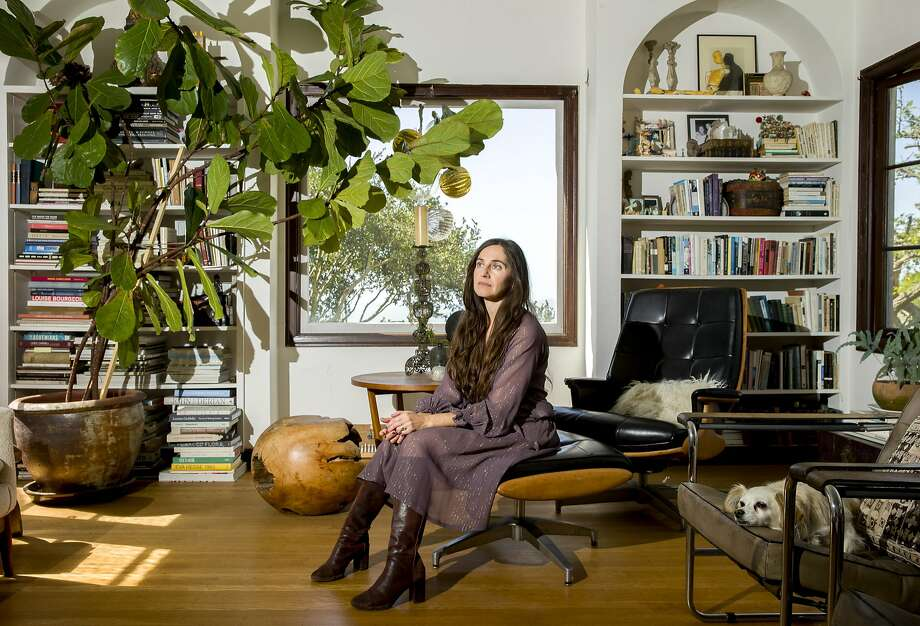 Fashion designer Erica Tanov at her Berkeley home last fall. Photo: Santiago Mejia / The Chronicle 2017