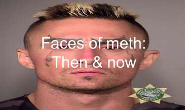 Mugshots: Alleged meth use has changed Oregon man's face over 14