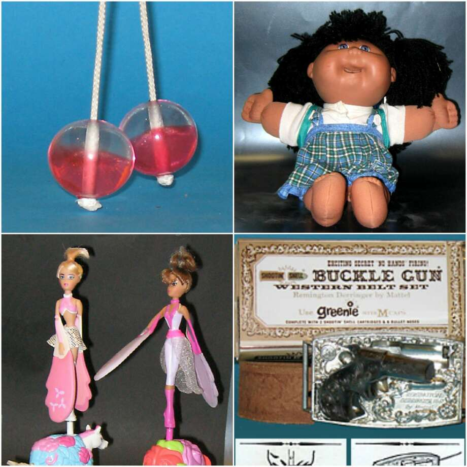 The top 10 banned toys through history mostly included goods that caused some serious harm to children.Swipe through to see what toys made the list and why. Photo: Gary Doss/Burlingame Museum Of PEZ Memorabilia