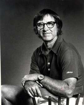 TODAY IN HISTORY/WED 10 25 00/BOBBY RIGGS - Tennis hustler Bobby Riggs is shown in this undated file photo. Riggs died in Leucadia, California, on October 25, 2000, at age 77. CREDIT: EXPRESS-NEWS FILE PHOTO (SOURCE: E-N FILE PHOTO)