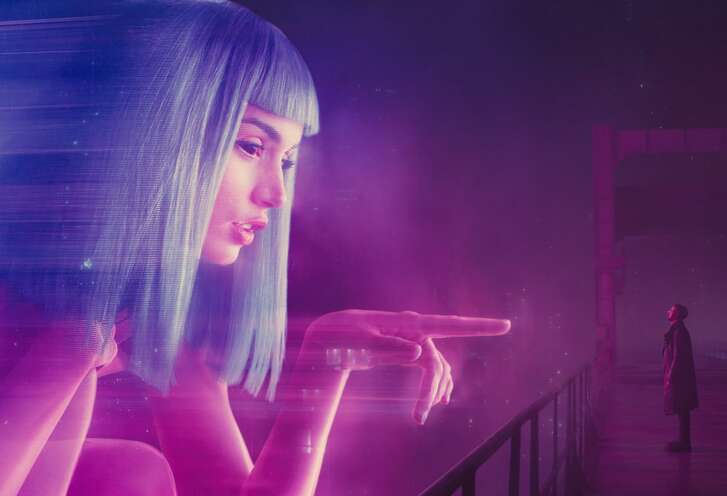 """Giant 3-D holograms outshine the video billboards from the original """"Blade Runner."""""""