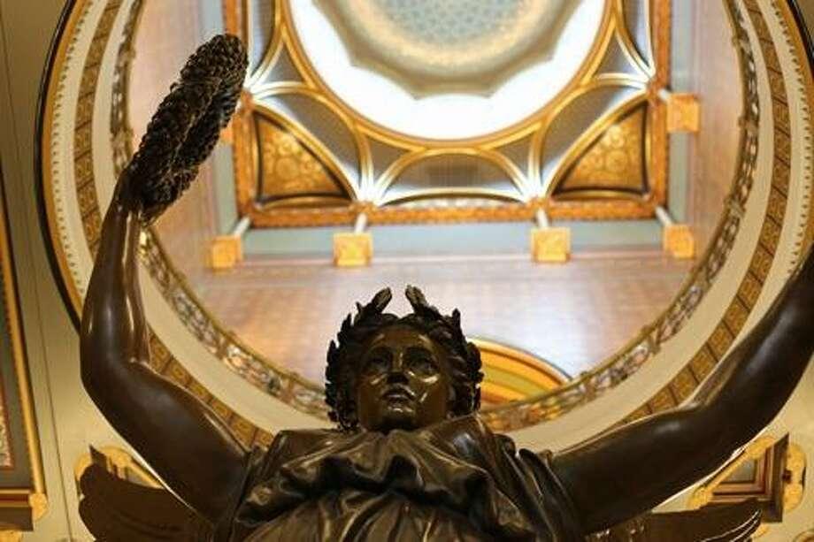 Genius of Connecticut statue in state Capitol Photo: Ctnewsjunkie File Photo / Ctnewsjunkie File Photo