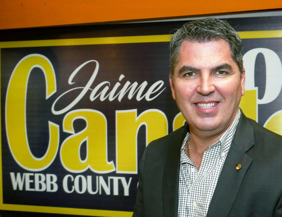 County Commissioner Pct. 4 Commissioner, Jaime Canales held a rally, Tuesday, October 3, 2017, to announce his bit for re-election for his post.