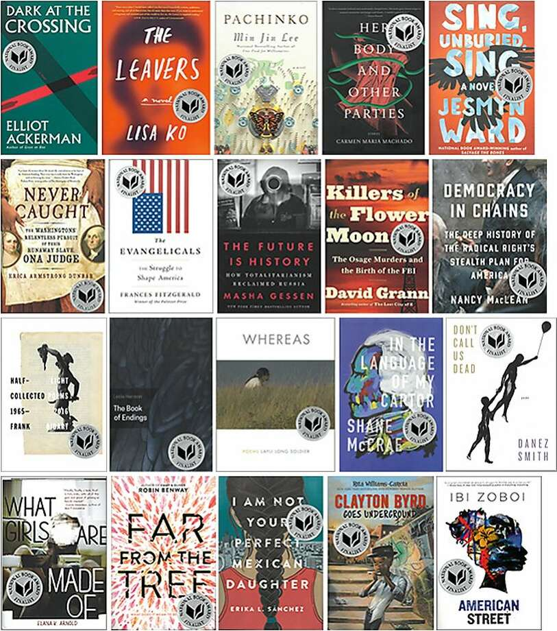 The finalists for the National Book Awards. Photo: National Book Foundation