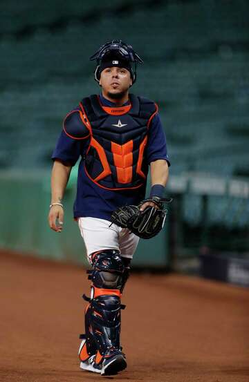 sale retailer 75a1c add08 Rangers claim catcher Juan Centeno off waivers from Astros ...