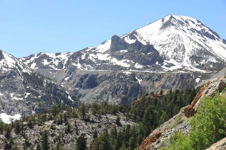 After closing due to snow, Tioga Pass reopened on Wed., Oct. 4, 2017. Photo: Caltrans District 10