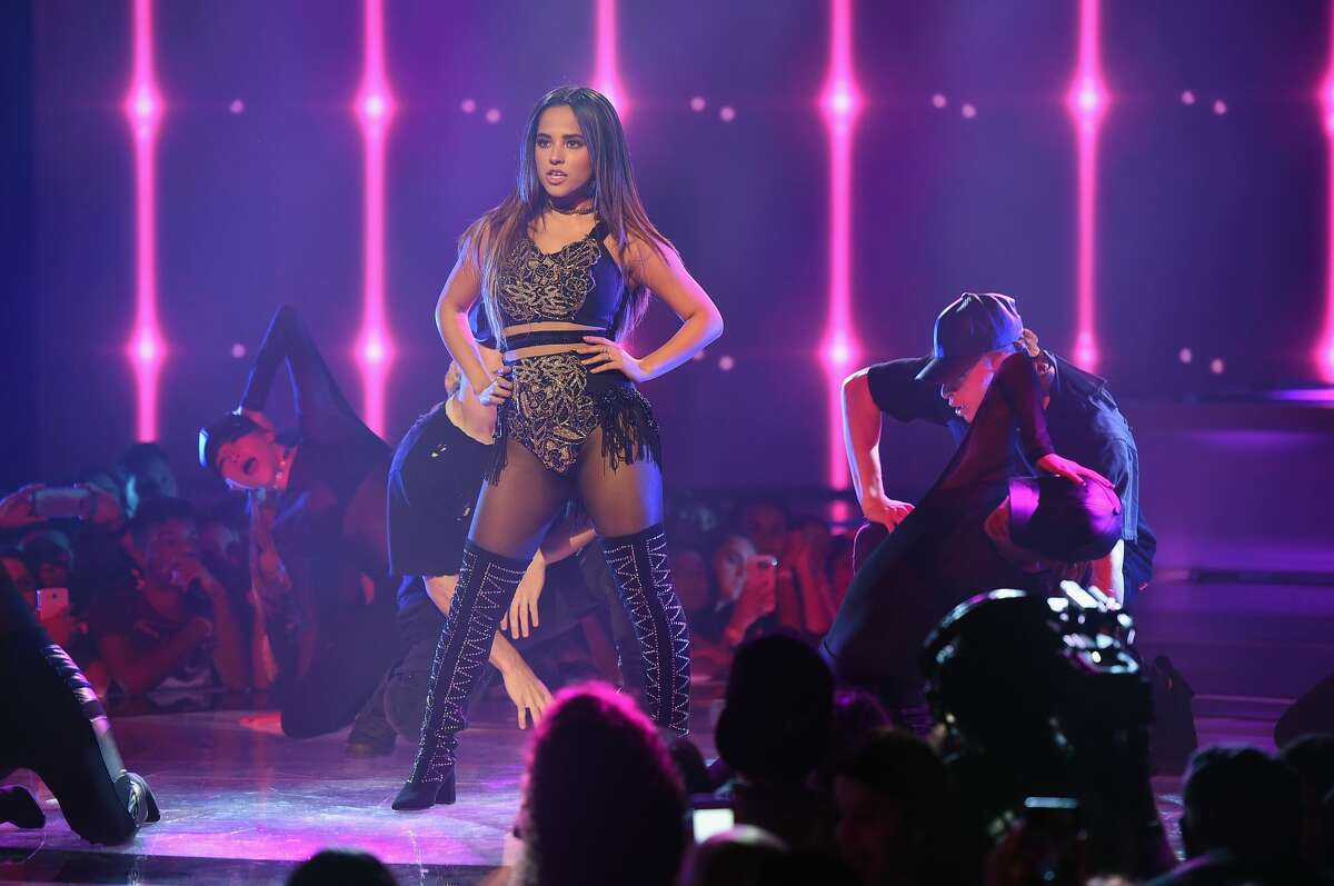 MIAMI, FL - OCTOBER 30: Becky G Performs In First Live Episode of Univision Networks La Banda at Univision Studios on October 30, 2016 in Miami, Florida. (Photo by Gustavo Caballero/Getty Images)