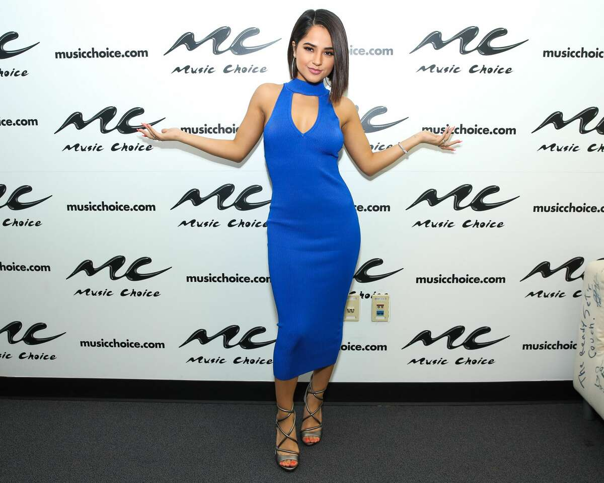 NEW YORK, NY - JULY 27: Singer Becky G visits Music Choice on July 27, 2017 in New York City. (Photo by JP Yim/Getty Images)