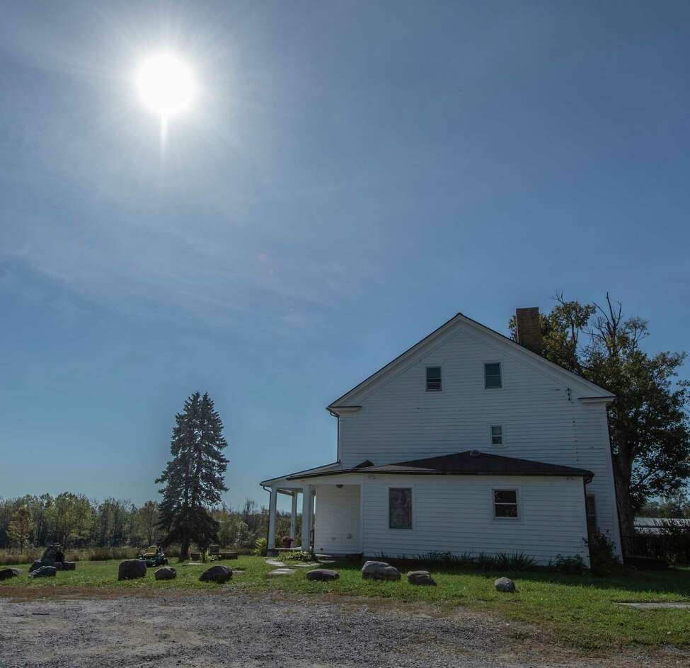 Exterior view of one of the structures at the Wm. H. Buckley Farm Wednesday Oct. 4, 2017 in Ballston Spa, N.Y. (Skip Dickstein/Times Union)