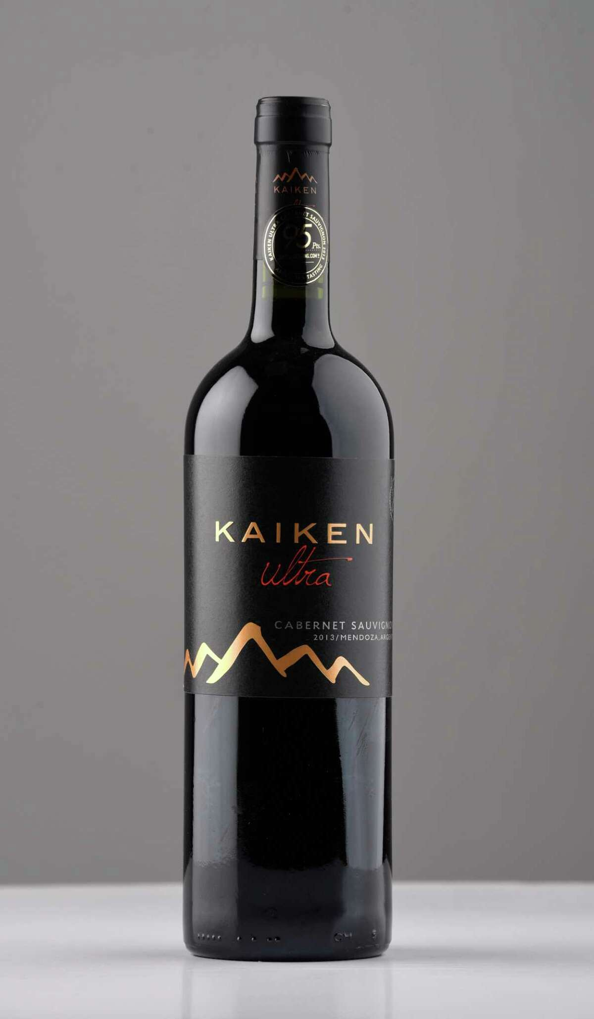 Kaiken Ultra, cabernet sauvignon 2013 on Wednesday, March 8, 2017, at the Times Union in Colonie, N.Y. (Will Waldron/Times Union)