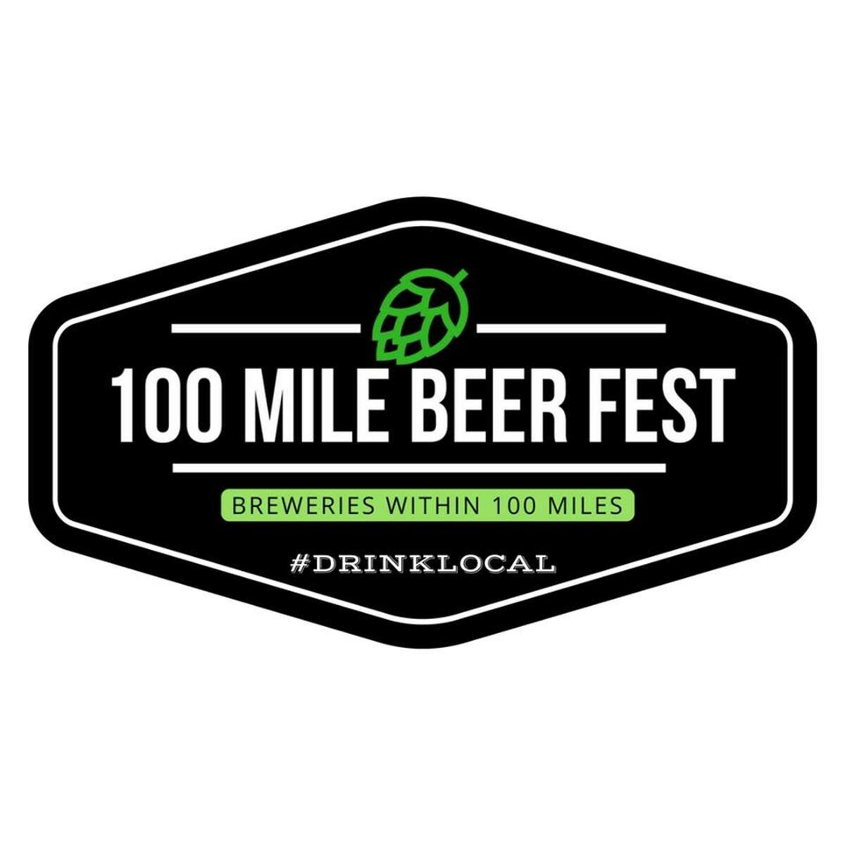 Logo for 100 Mile Beer Fest. (Provided by Lupulin Events)