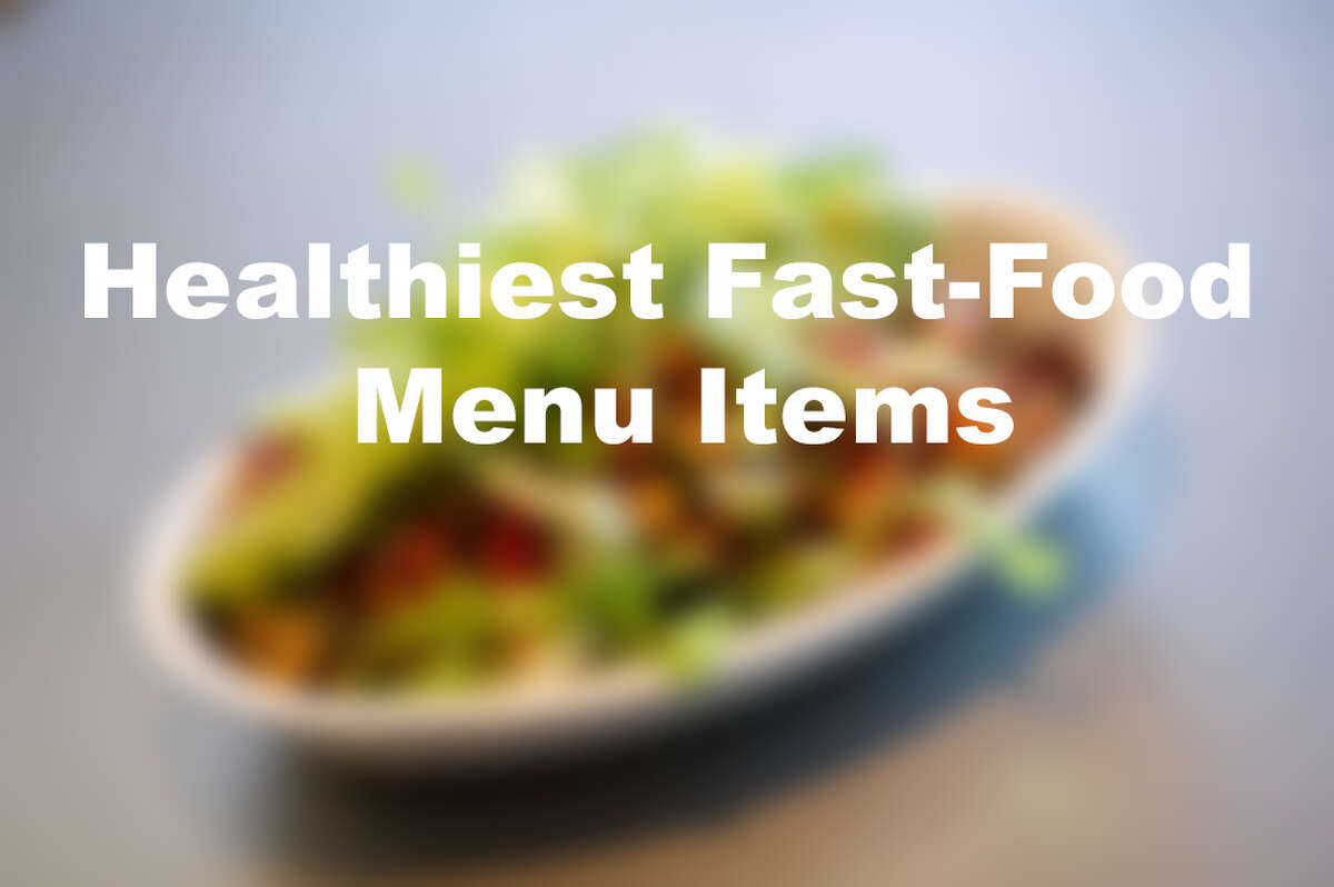 >>Here are the healthiest things you can order at 15 of your favorite fast food chains...