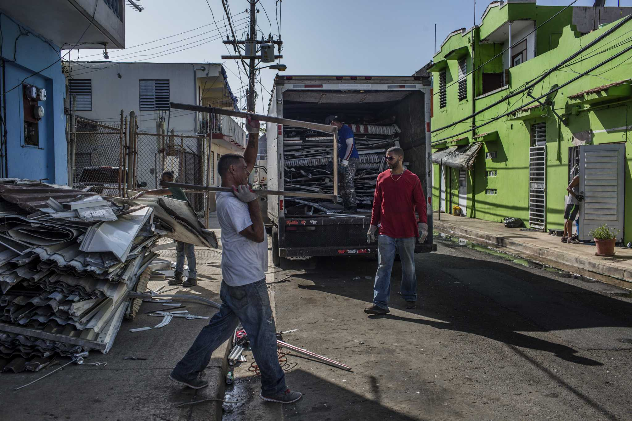 greenwich brings relief to puerto rico
