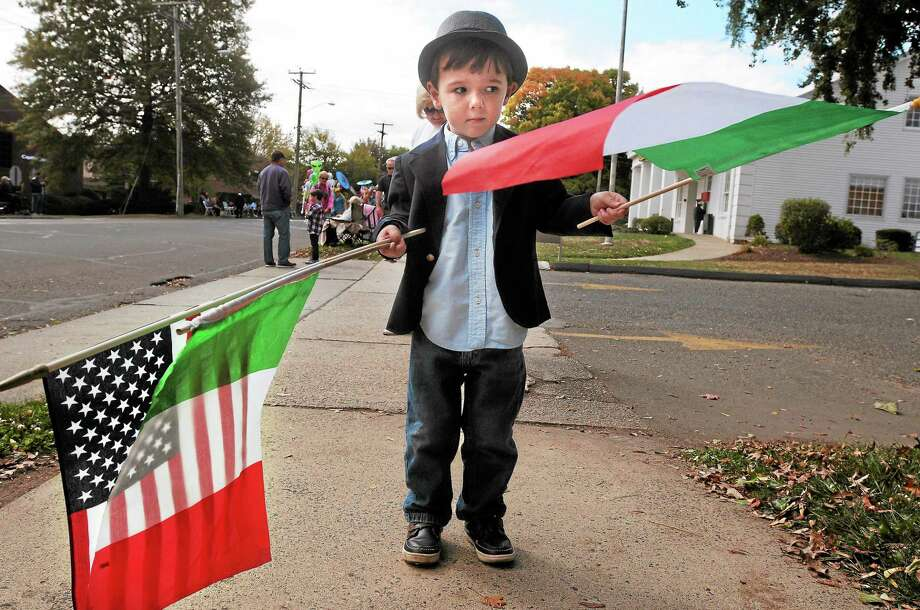 The Greater New Haven Area Columbus Day Parade rotates between six towns. This year it will be held in West Haven. Photo: File Photo / Mara Lavitt