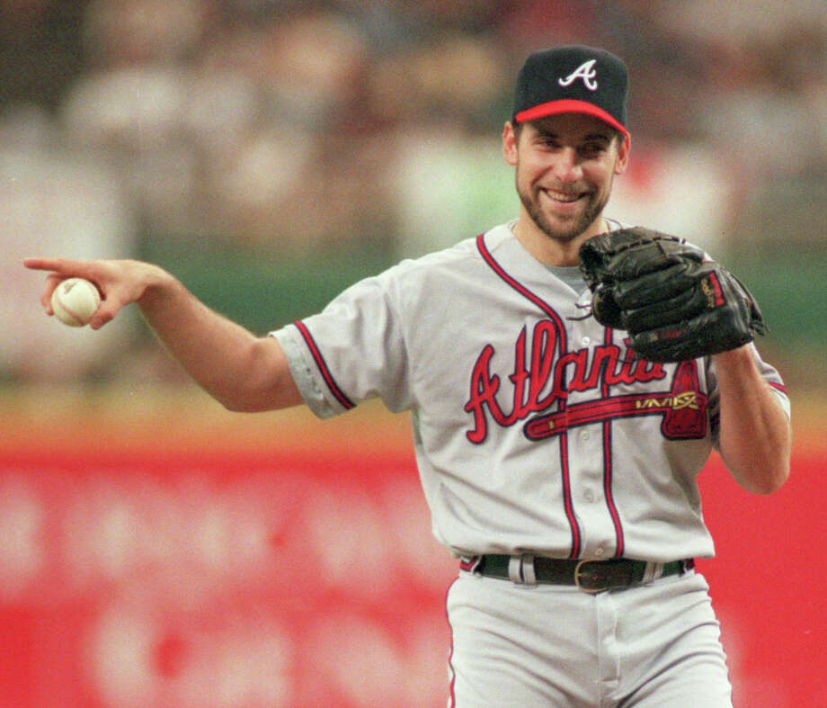 John Smoltz had plenty of reasons to smile at the Astros' expense, as he and the Braves ousted Houston from the playoffs in 1997, 1999 and 2001. Photo: Kerwin Plevka, Houston Chronicle / Houston Chronicle