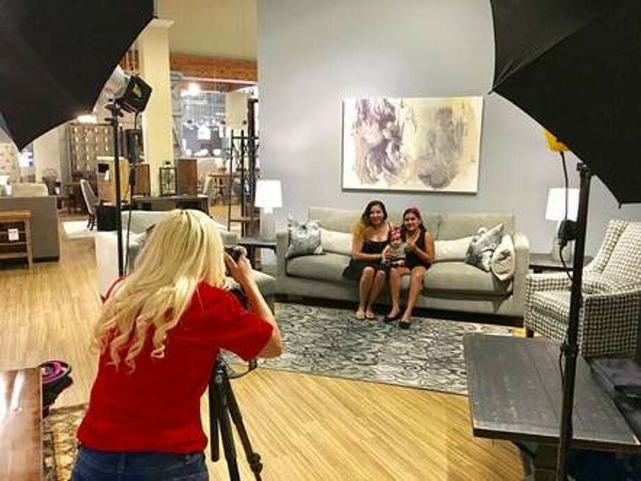 Ashley HomeStore will offer free photo sessions and an 8x10 to families who lost their family photos in Hurricane Harvey.