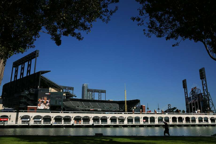 AT&T Park, the ballpark of the San Francisco Giants, seen on Oct. 17. Photo: Santiago Mejia, The Chronicle