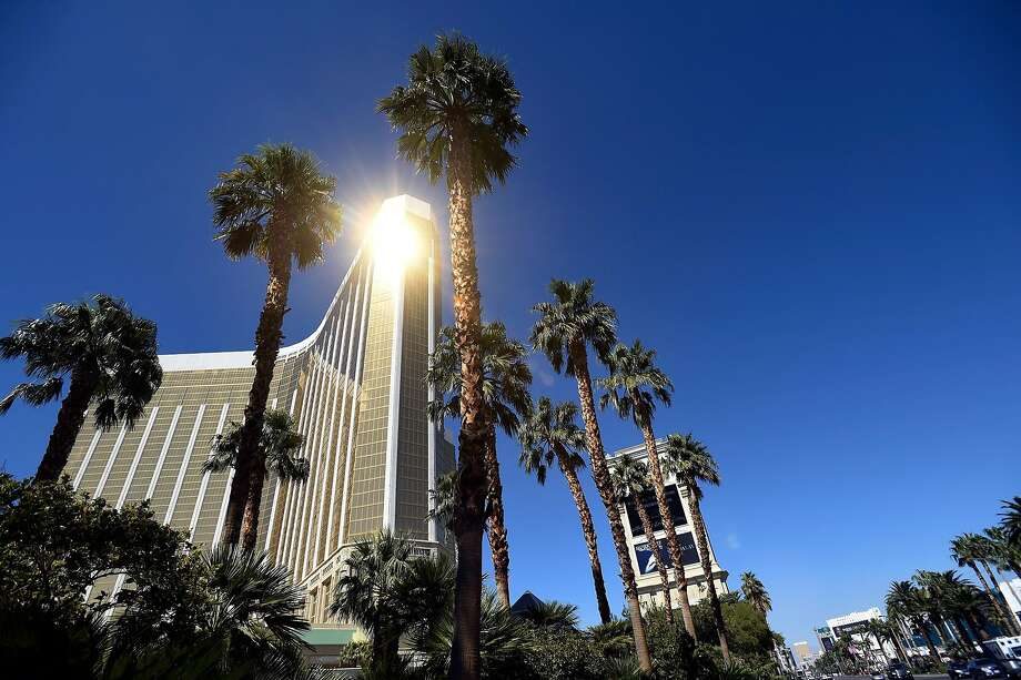 Stephen Paddock fired from his suite at the Mandalay Bay Resort & Caisno for nine to 11 minutes before killing himself. Photo: David Becker, Getty Images