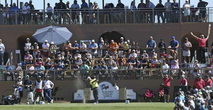 Kevin Chappell, here en route to winning the 2017 Valero Texas Open, will find it tougher to win the event in the future considering the upgrade in fields.