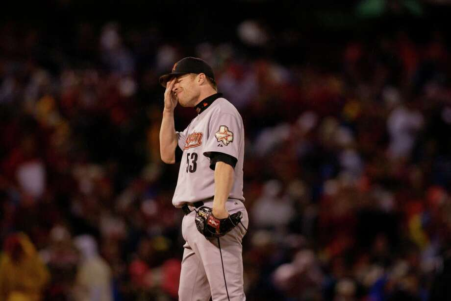 The Astros' starting pitching was in tatters during the NLCS, forcing them to start Pete Munro twice against the Cardinals. Photo: Karen Warren, Houston Chronicle / Houston Chronicle
