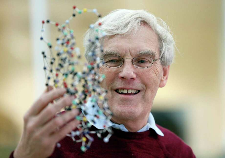 Briton Richard Henderson and two other researchers will share a $1.1 million prize. Photo: Frank Augstein, STF / Copyright 2017 The Associated Press. All rights reserved.