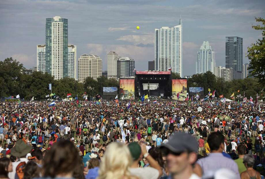 The Austin City Limits Music Festival at Zilker Park in Austin begins Friday. After the Las Vegas shooting, the Austin police chief said that whenever there is a violent incident anywhere, officials have to be concerned about copycats. Photo: Ben Sklar /New York Times / NYTNS