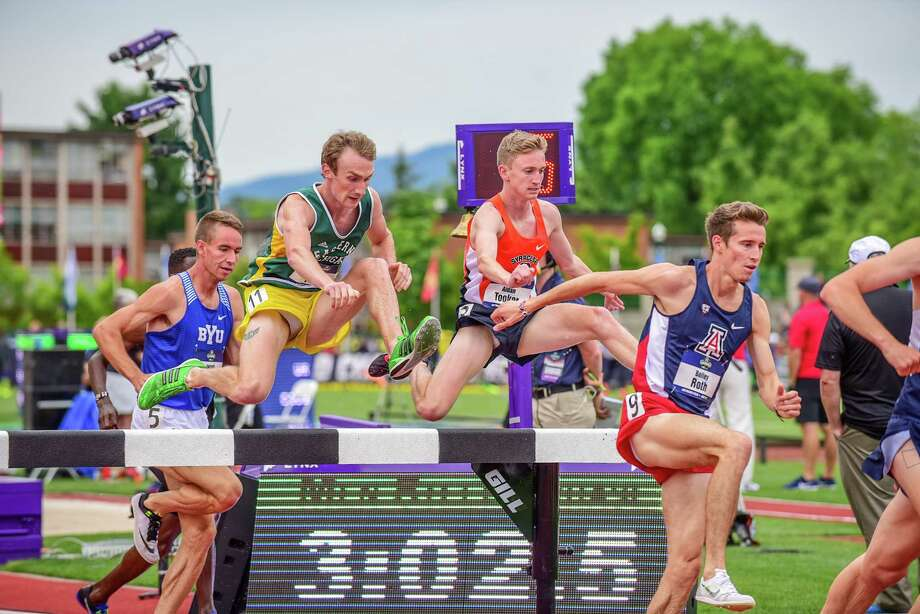 Saratoga Springs High graduate Aidan Tooker of the Syracuse cross country team. (Courtesy of Syracuse Athletics) Photo: Michael Scott / (c) Michael Scott 2016.