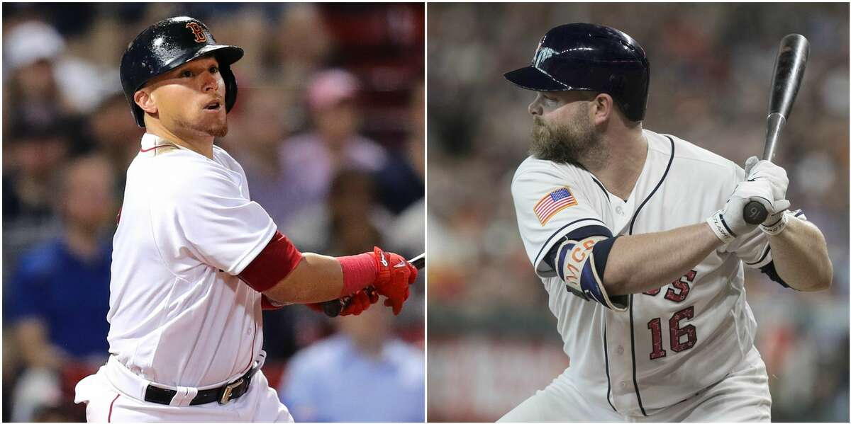 CATCHER Astros newcomer Brian McCann saw his string of 20-homer seasons snapped at nine, but 18 long balls suggest he still has some pop, though his batting average was .241. Evan Gattis, who likely will DH some, hit .263 with 12 homers in 300 at-bats. Because the Astros were the worst team in the majors at throwing out opposing base stealers this season, they'll carry third catcher Juan Centeno for late-inning defensive purposes. Boston's Christian Vazquez lacks the power of the Astros' backstops but hit .314 with an .812 OPS in 50 games after the All-Star break. And he threw out 42 percent (21 of 50) of opposing base stealers. Edge: Red Sox