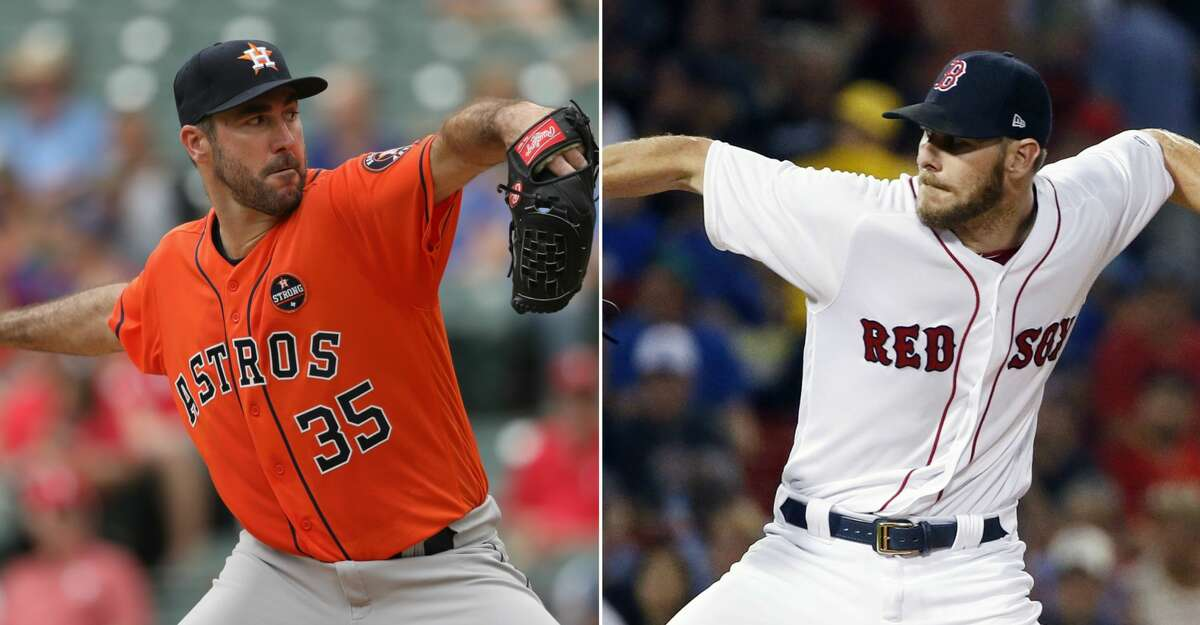 STARTING PITCHING No other Division Series can match this one's Game 1 matchup pitting Justin Verlander and Chris Sale. Verlander (15-8, 3.36 ERA) has won all five of his starts while posting a 1.06 ERA since coming to the Astros from the Tigers. More importantly, he is 10-2 with a 1.95 ERA and 0.82 WHIP overall since the All-Star break. Sale led the majors with 308 K's while going 17-8 with a 2.90 ERA. But his second-half durability has become a perennial question, and this is his first postseason. The Astros' Dallas Keuchel, Brad Peacock and presumably Charlie Morton trump Drew Pomeranz, Rick Porcello and presumably Doug Fister. Edge: Astros