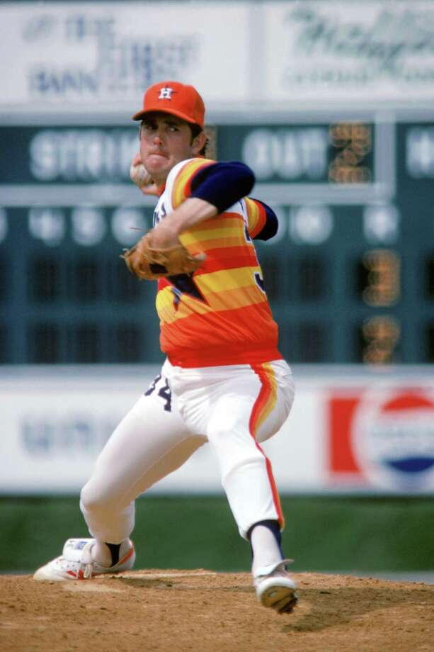 Nolan Ryan, who has followed Justin Verlander since he was a Tigers rookie, was an Astros mainstay from 1980-88 and threw a career-high 3322⁄3 innings with the Angels in 1974. Photo: Rich Pilling, Contributor / 2004 Rich Pilling