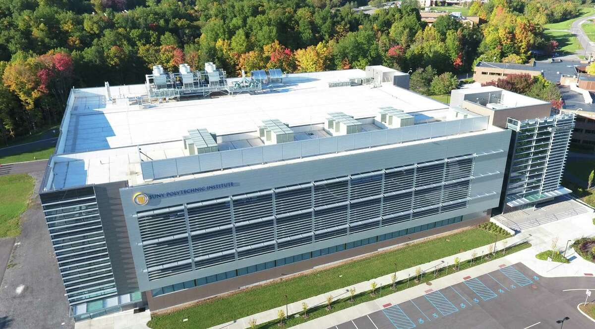 SUNY Poly's Quad-C building in Utica is home to Danfoss Silicon Power, which is planning to employ 300 people as it ramps up operations to make power modules used in cars, solar and wind power technologies and industrial devices.