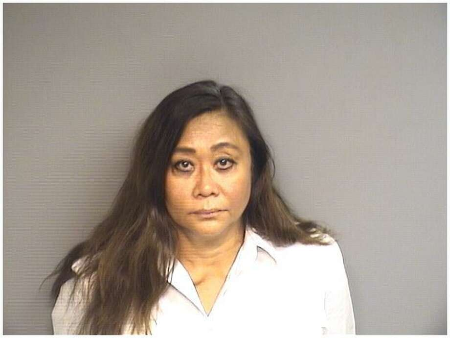 Nanette Hayes, 62, of San Diego, California, was charged with cashing a forged check worth $110,000 from a Stamford man's bank account. Photo: Stamford Police / Contributed