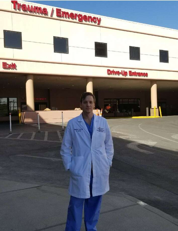 Dr. Matt Foley is a Beaumont native who was working as a surgical resident in Las Vegas during the mass shooting on Oct. 1, 2017. Photo courtesy of Matt Foley. Photo: Photo Courtesy Of Matt Foley.