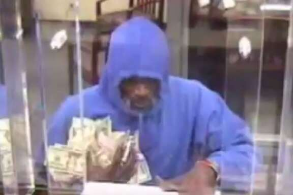 Two suspects are wanted for robbing the Amegy Bank at 6602 Fannin on Friday, Aug. 25, 2017. The two got away with a large amount of cash, Houston Police said in a release.