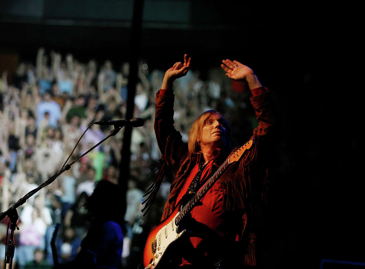 Rock legend Tom Petty jams for a sold out crowd, June 26, 2006, at Xcel Center in St. Paul, Minn. Petty died Monday after cardiac arrest.