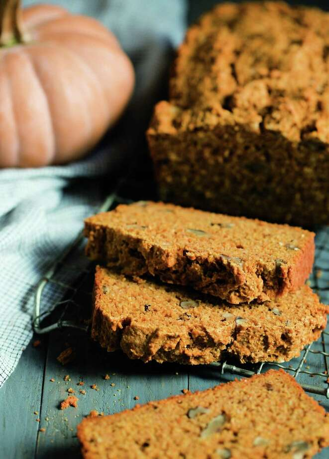 Slices of the season: pumpkin corn bread. Photo: Clare Barboza /Storey Publishing
