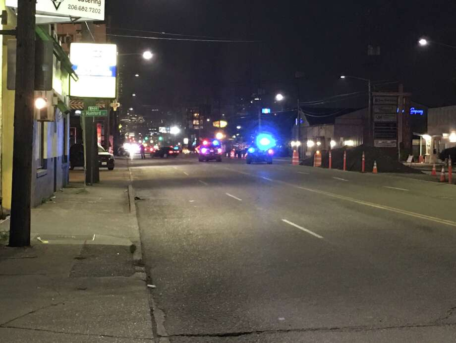Police are investigating what appears to be a deadly stabbing in Seattle's SoDo district. Photo: Jordan Treece/KOMO News